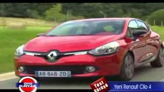 Yeni Renault Clio 4 Test - TRT Oto Dünyası