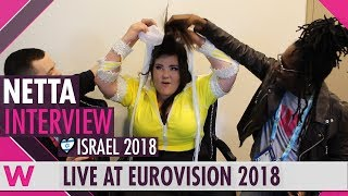 Netta (Israel) interview @ Eurovision 2018   wiwibloggs