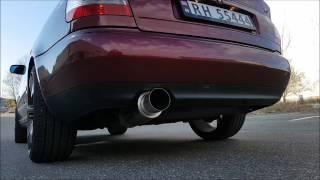 Audi A4 B5 1998 1.6 Custom Exhaust Sound