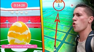 RUNNING FOR MY FIRST LVL4 RARE RAID IN POKEMON GO! DID WE GET IT? + How To Raid!