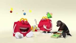 HAPPY MEAL COMMERCIAL HD | Books Europe