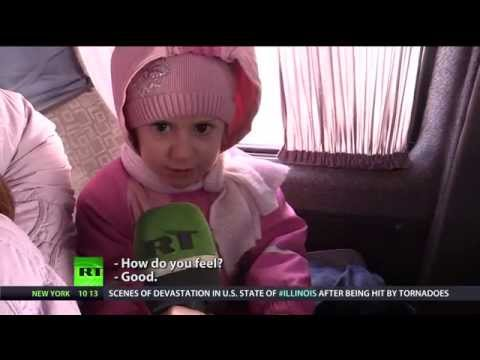 Heart diseased children from war-ravaged Ukraine forced to seek treatment in Russia