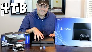 My 4TB PS4 - Featuring The Nyko Data Bank & 4TB WD Green Hard Drive