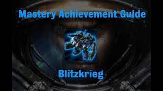 Blitzkrieg Mastery Achievement - Starcraft 2 Wings of Liberty