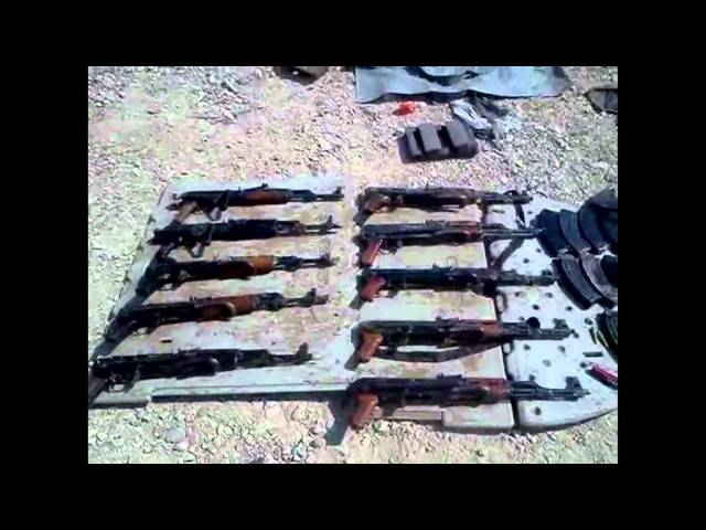 Weaponry and Ammunition Uncovered on Palestinian Boat in the Dead Sea