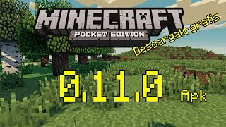 Minecraft Pocket Edition 0.11.0 alpha build 1  [APK]