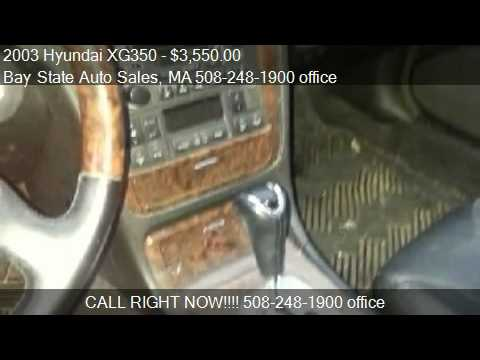 2003 Hyundai XG350 L for sale in Charlton, MA 01507 at Bay S