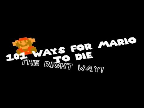 101 ways for mario to die (the right way!) 50,000 subs!
