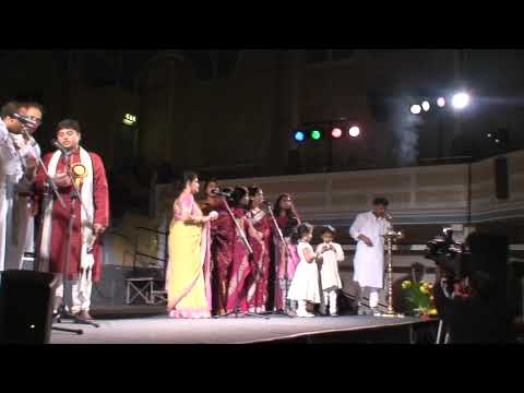 Hachevu Kannadada Deepa  Kannada Balaga Uk 2009 Deepavali Function video