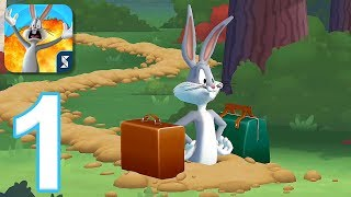 Looney Tunes World of Mayhem - Gameplay Walkthrough Part 1 - Tutorial (iOS, Android)