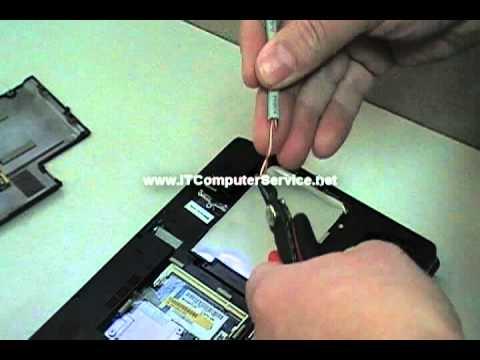 Toshiba NB505 Bios Password Removal