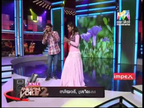 Josco Indian Voice Season 2   Sree Lekshmi And Siyad 16 01 2013 video