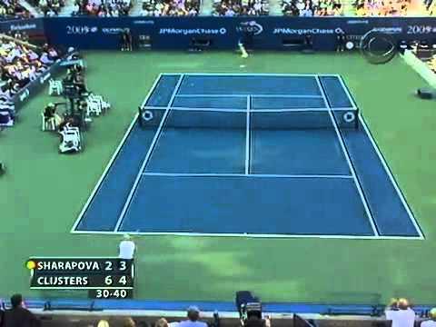 Kim Clijsters v. Maria Sharapova | 2005 US Open Highlights