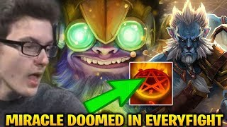 Miracle Tinker Get Doomed due to His Fast Hand In EveryFight Dota 2 7.17