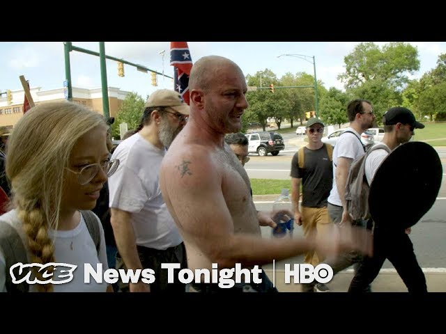 Charlottesville Race and Terror в VICE News Tonight on HBO