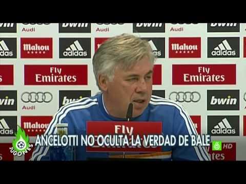 "Jugones - Ancelotti: ""Bale será titular"""