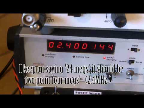 About Radio 50 RF Alignment, Eddystone S680X communications receiver.