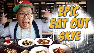 EPIC EAT OUT #2: High in the SKYE | PUTRA SIGAR