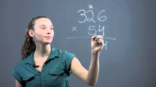 How to Multiply Triple Digits by Double Digits : Math Questions & Answers