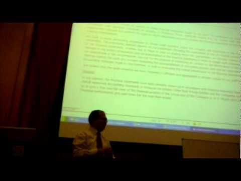 MSCPMP Circle: Quarterly Forum #3 (2010): Accounting and Finance for Project Manager
