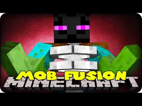 Minecraft Mods MOB FUSIONS CREATE YOUR OWN MOBS Mod Showcase