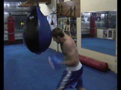 Boxing combination  4 .Heavy bag Image 1