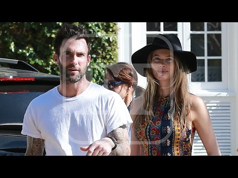 Adam Levine and Pregnant Wife Behati Prinsloo Search For a New Home in LA!
