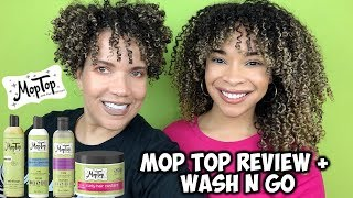 MOP TOP | Review + Wash N' Go | Amazing In Humidity!