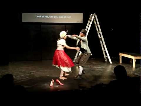 """Waiting for Godot"" performed by the Graduates of The Freedom Theater Jenin Refugee Camp"