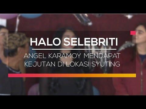 download lagu Angel Karamoy Mendapat Kejutan Di Lokasi Syuting - Halo Selebriti gratis