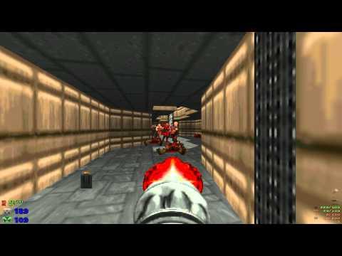 Misc Computer Games - Doom - E1m3 - Toxin Refinery