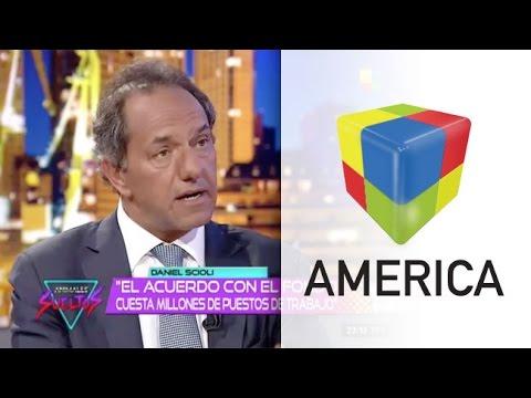 """Scioli: """"Veo un claro acuerdo entre Macri, el FMI y los fondos buitre"""""""