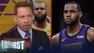 LeBron is the most scrutinized athlete in American sports - Broussard | NBA | FIRST THINGS FIRST