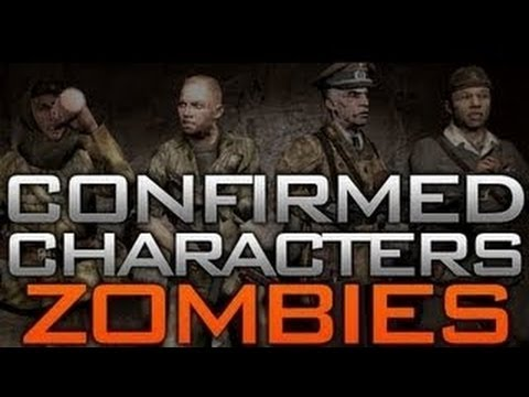 Black Ops 2 Zombies DLC 4 Old Characters RETURN - BO2 Storyline Secret - Nikolai - Dempsy - Takeo