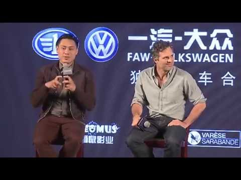 Now You See Me 2 Beijing Press Conference In Full (Mark Ruffalo, Jon M. Chu)