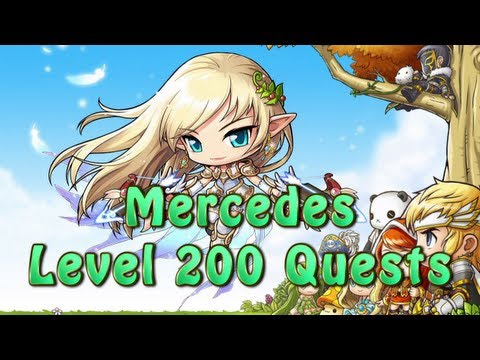 AionJC: Mercedes Level 200 Quests