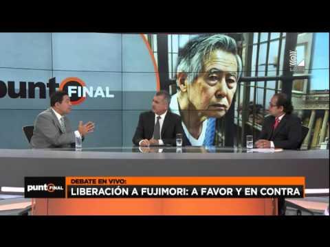 Mira este candente debate por la liberación de Alberto Fujimori