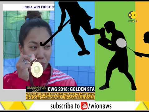 CWG 2018: Mirabai Chanu Gives A Golden Start To India