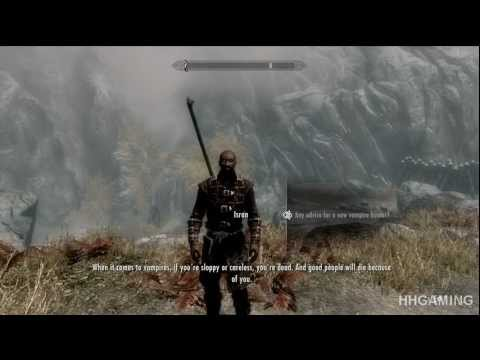 Skyrim Dawnguard - walkthrough part 27 HD gameplay dlc add on Dawnguard Path