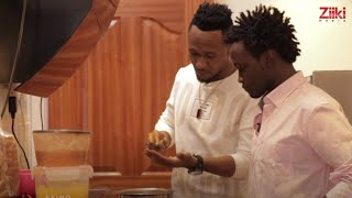 Bahati and Dj Mo Cook for their Wives- Double Date (BEING BAHATI Ep14)