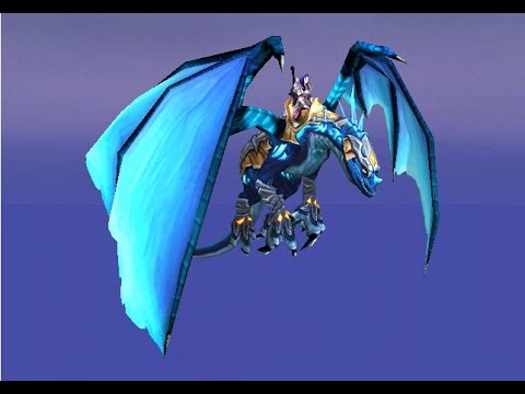 WOW how to get the Blue and Azure drake I got both in one drop!!!!!