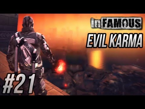 inFAMOUS - Evil Karma: All Choices and Cutscenes (Platinum Trophy Guide)