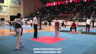 Download Lagu 48kg Kutay Cekem - M. Emin Kaya (Turkish Junior Taekwondo Championships 2012) Gratis STAFABAND