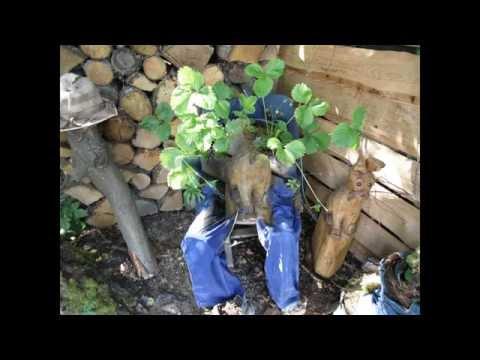 Gartendeko Mit Alten Haushaltssachen