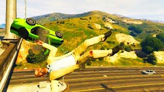 GTA V Unbelievable Crashes/Falls - Episode 26