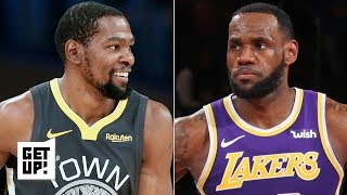 LeBron won't win the Lakers a title if KD re-signs with the Warriors - Richard Jefferson | Get Up!