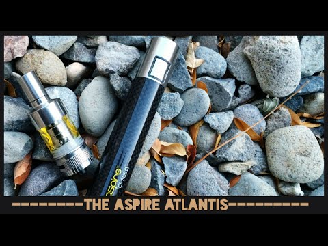 Aspire Atlantis + CF SUB OHM battery