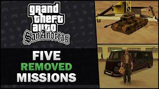 GTA San Andreas - Five Cut Missions - Feat. SWEGTA [Beta Analysis] [PL, GER, ESP, TRK, IND Subs]