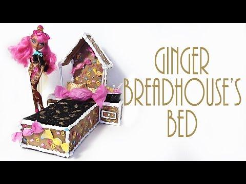 Кровать для куклы эвер афтер хай своими руками