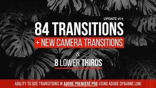 Transitions - After Effects Template - Videohive